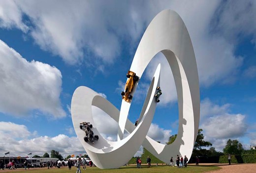Lotus Sculpture, Goodwood Festival Of Speed 2012 / by Gerry Judah