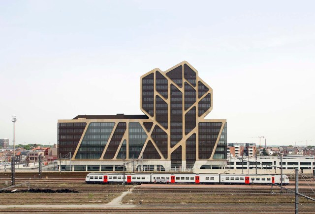 Court Of Justice Hasselt in Belgium/ by J. MAYER H. Architects