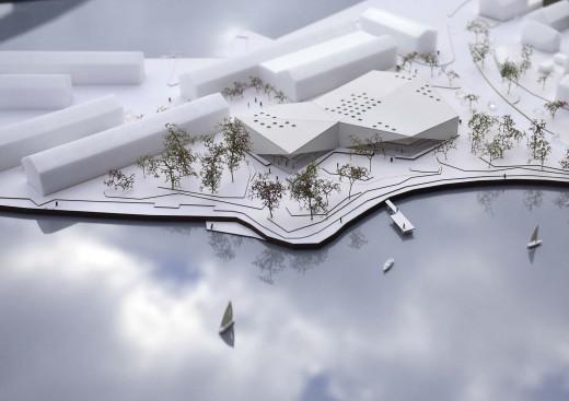 New-Cultural-Centre-and-Library-Karlshamn_schmidt-hammer-lassen-architects_Model_001