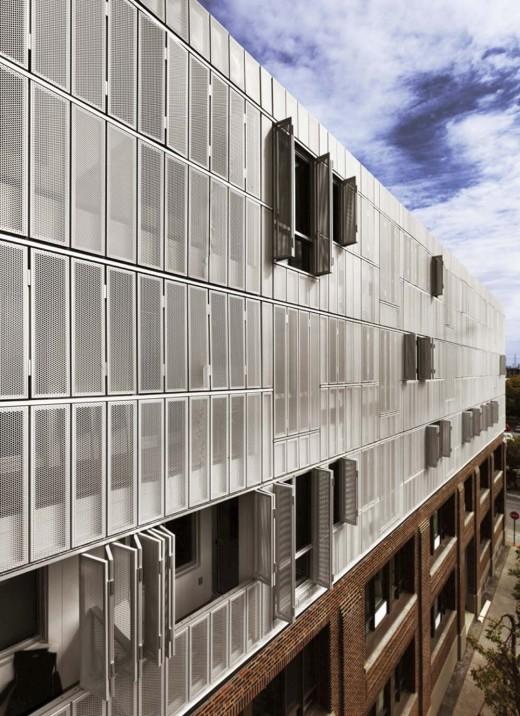 urban housing project, Irène in Montreal's borough, St-Henri,