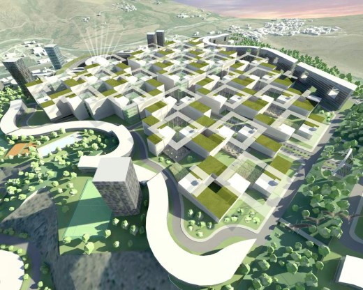 The New City Of El-Menia, Constantine, Algeria / by Exp + Lemay