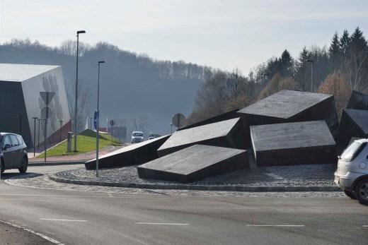 Podčetrtek Traffic Circle, Slovenia / by  ENOTA