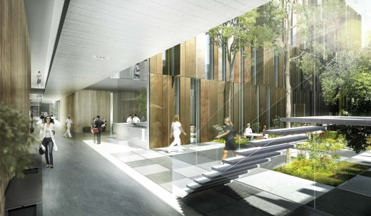 Hospital Project in Sweden / by schmidt hammer lassen architects