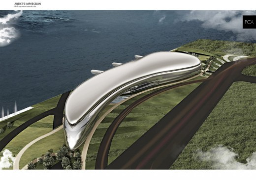 Port and Cruise Service Centre International Competition - Terminal Passenger - PAOLO CUCCHI ARCHITECTS