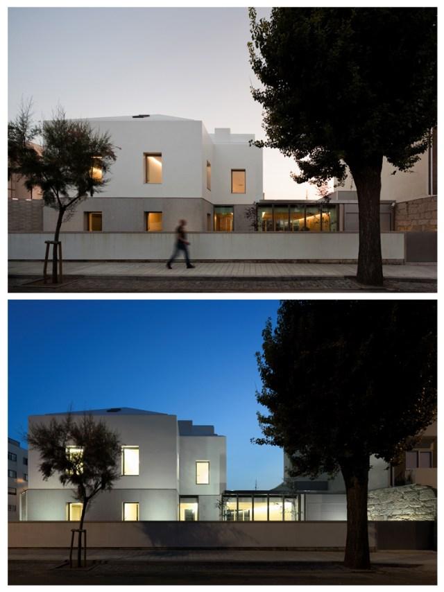 TENSAI OFFICES IN LEÇA DA PALMEIRA, PORTO, PORTUGAL by ADA - Atelier de Arquitectura