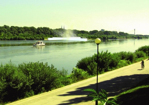 SAUNAS COMPLEX ON VISTULA RIVER IN WARSAW / Bud Cud