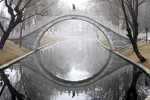 traditional moon bridge - reference
