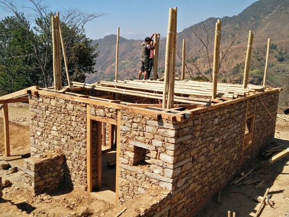 Earthquake Resistant Self-Help Traditional House at Nepal by ALLEYA AND ASSOCIATES