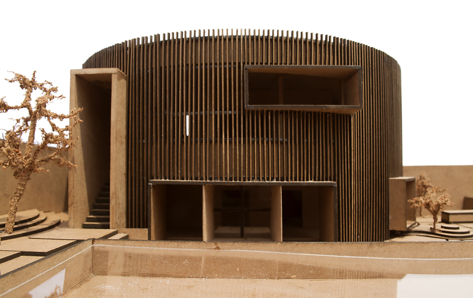 The House of Sweeping Shadows, Bansberia, West Bengal - Abin Design Studio 33