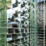 Gevel van glazen stenen MVRDV