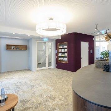 Büro Service & More Diefenbachgasse - Eingangsbereich