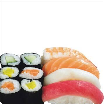 Architekt Gutmann - Design - Sushi-Tapete für Mr. Lee