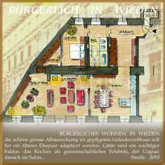 Architekt Daniel Gutmann - Wohnungen - Bürgerliches Wohnen Wieden