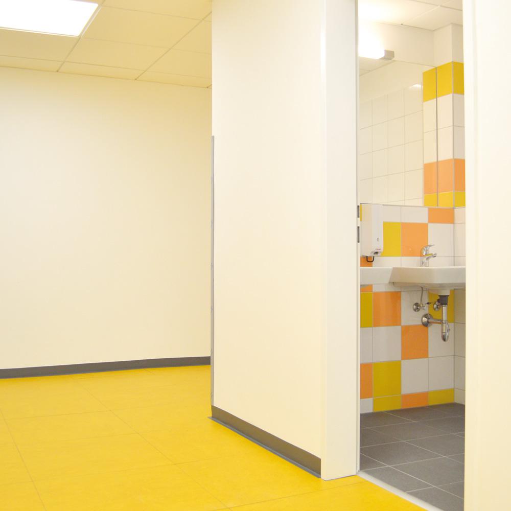 Bürogebäude Caritas Triesterstraße - Gelbes Geschoss