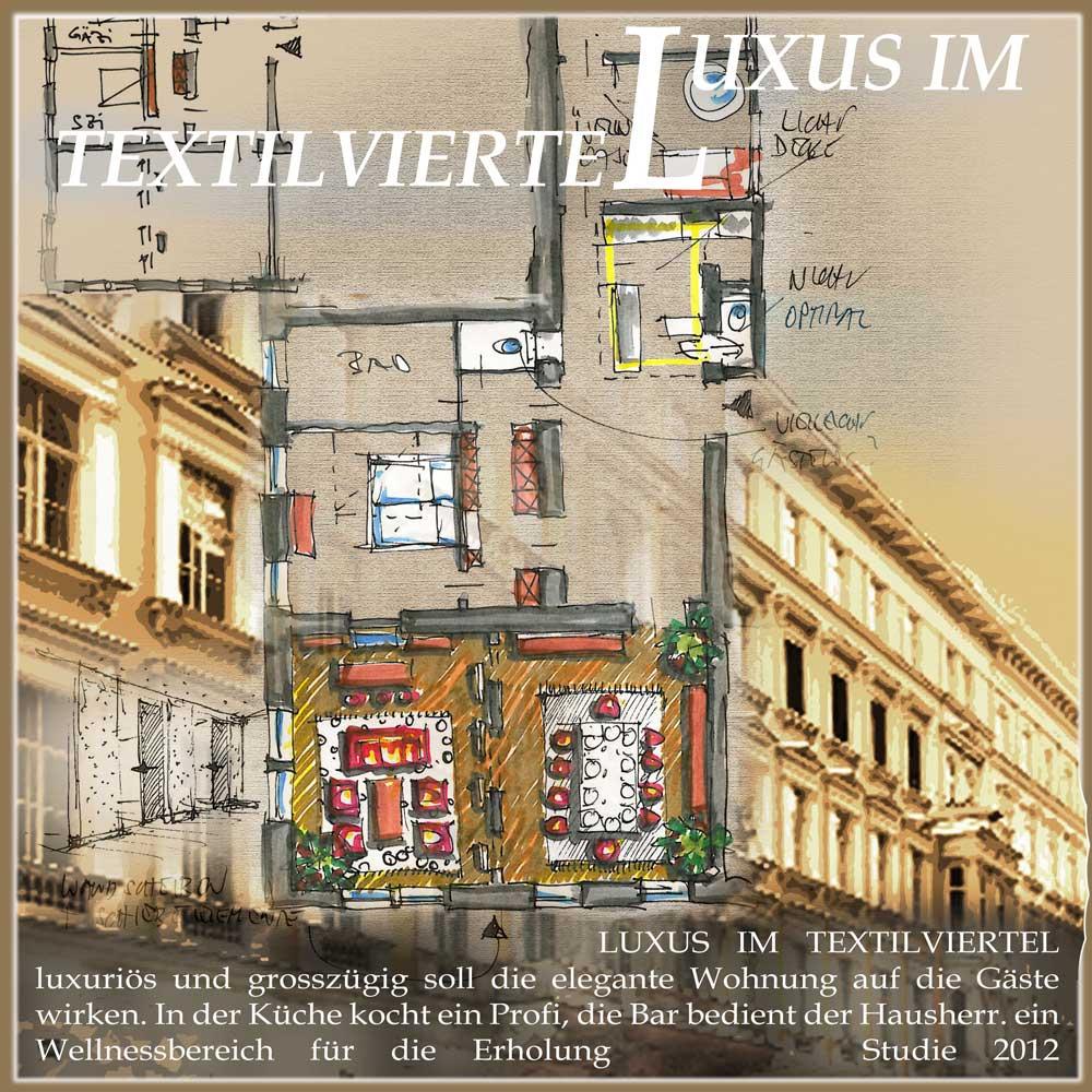 Architekt Daniel Gutmann - Wohnungen - Luxustextilviertel
