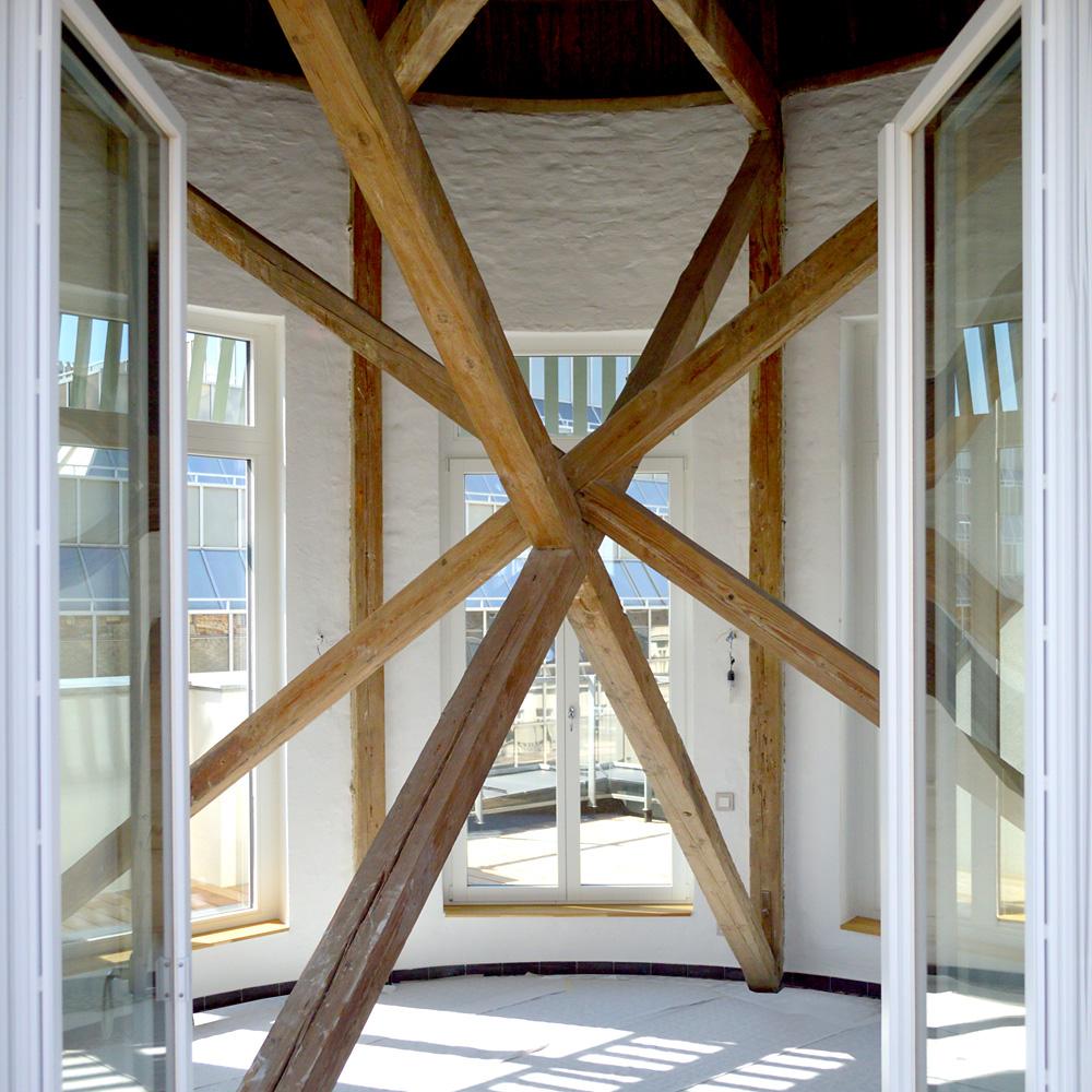 Dachgeschoss Julius-Tandler-Platz - Turmwohnung Turmzimmer