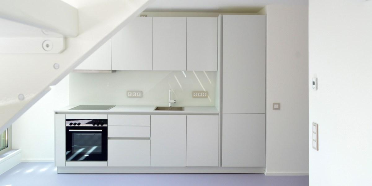 Dachgeschoss Julius-Tandler-Platz - Wohnung Lila Küche