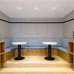 Architekt Gutmann - Büro Service & More Diefenbachgasse - Cafe-Ecke