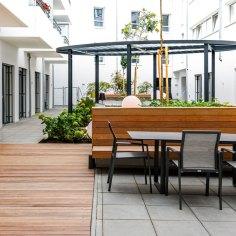 Architekt Gutmann - Büro Service & More Diefenbachgasse - Freiraum
