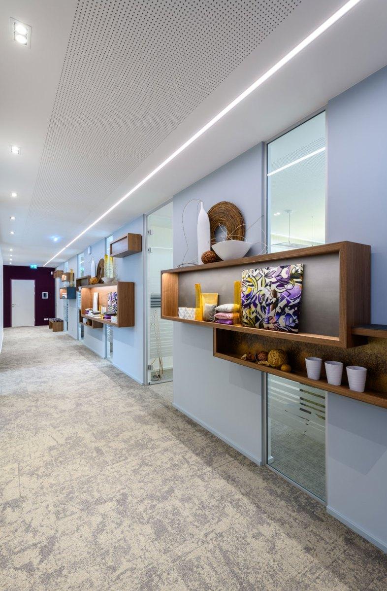 Architekt Gutmann - Büro Service & More Diefenbachgasse - Gang