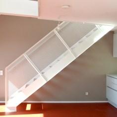Dachgeschoss Julius-Tandler-Platz - Wohnung Rot Wohnküche