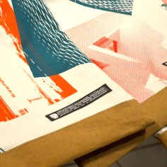 Siebdrucktaschen - Details Tasche