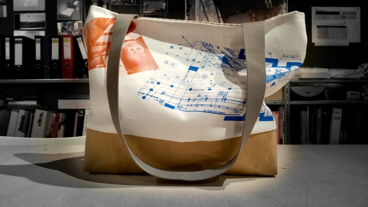 Siebdrucktaschen - Prototyp Summer bag
