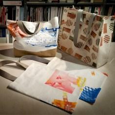Siebdrucktaschen - Prototypen