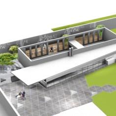 Besucherzentrum Justizanstalt Karlau - Sportschießanlage Aussenraum
