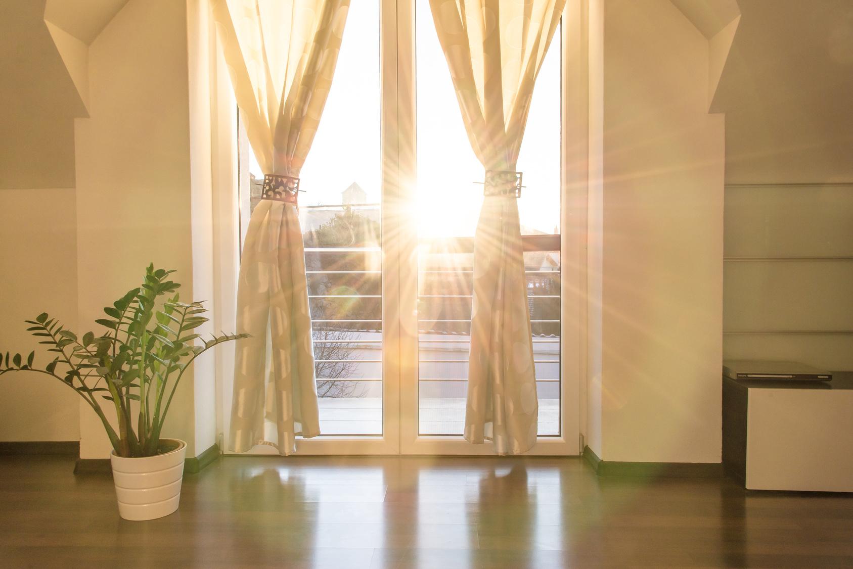 Gardinen 6 Ideen fr das Wohnzimmer