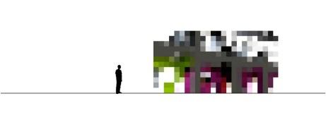 Struttura di pixel come punto di partenza