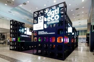 lo stand di DigitalEcosystems