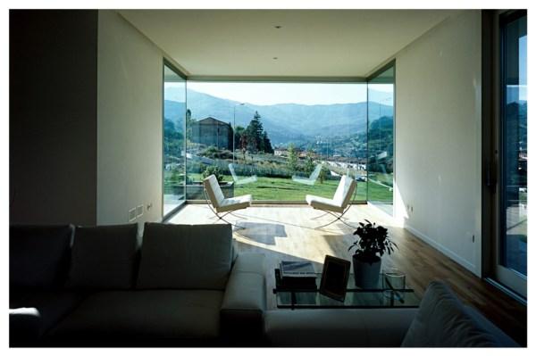 vista interna del soggiorno