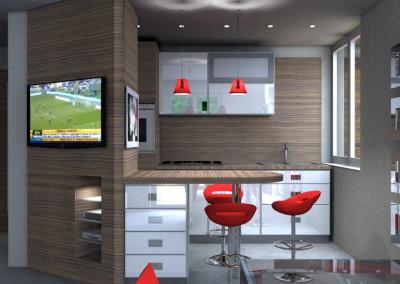 Esempi di Progetti 3D di Arredare  Architettiamo Progetti OnLine