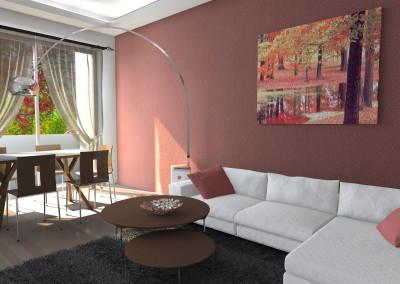 Esempi di Render fotorealistici interni di Progetto 3D di ristrutturazione