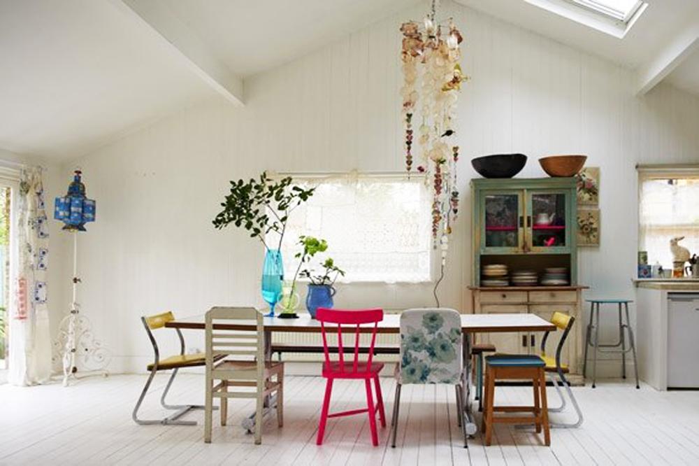 Latest camera da pranzo con sedie colorate with camere da pranzo - Camera da pranzo ...