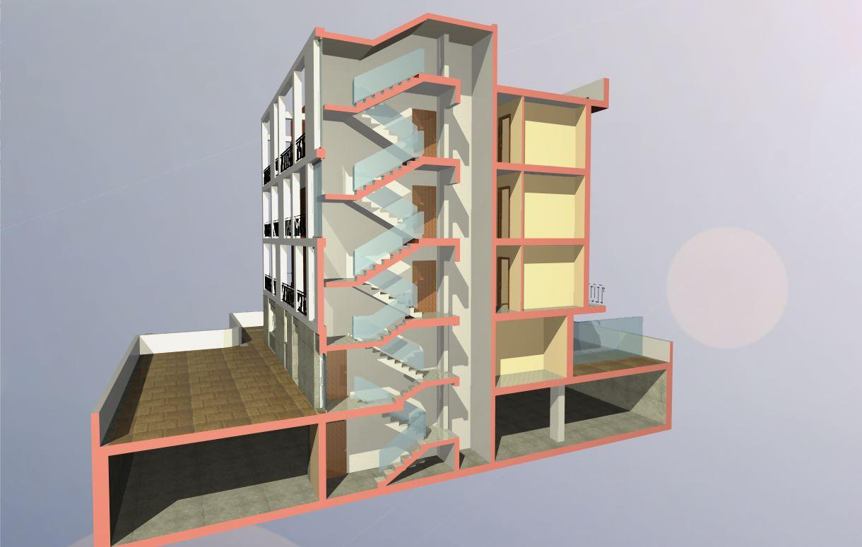 Edificio Residenziale C  Architetto Facile