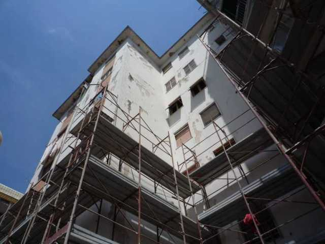 Lavori condominiali - Manutenzione straordinaria a condominio - Edificio prima dei Lavori
