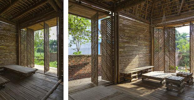 Come costruire una casa in bamb in 25 giorni con 2500 dollari