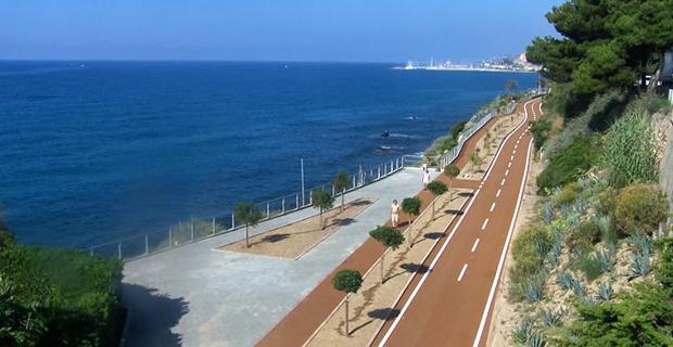 Rigenerazione extraurbana la pista ciclabile lungo lex linea ferroviaria