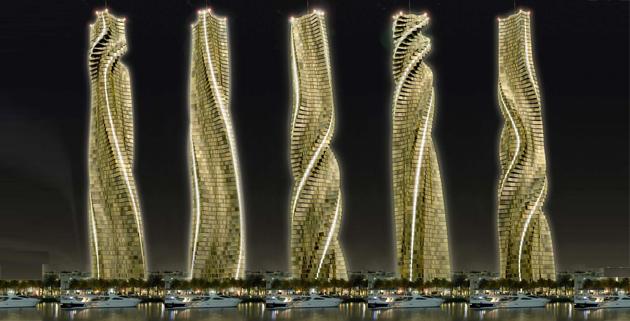 Da Vinci Tower la torre dinamica di Dubai