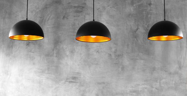 Tendenze per lilluminazione della cucina le lampade sospese