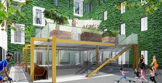 COventidue progetto di cohousing nel cuore di Milano
