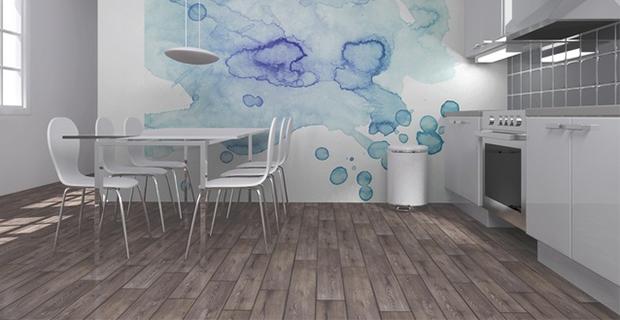 Idee per dipingere le pareti sfondi acquerellati e