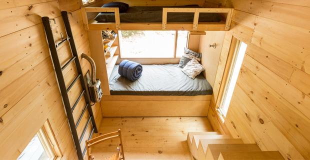 Getaway piccole case mobili per brevi vacanze nella natura