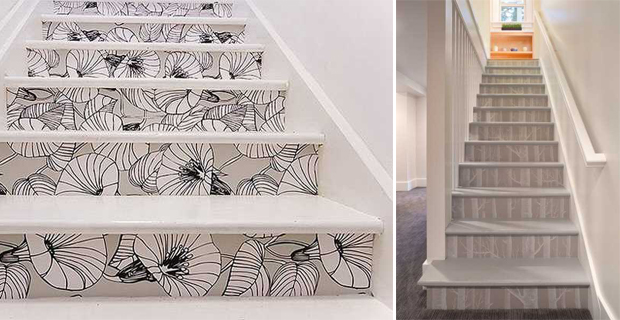 Idee Creative Per Decorare Le Scale Con Pattern Colori E