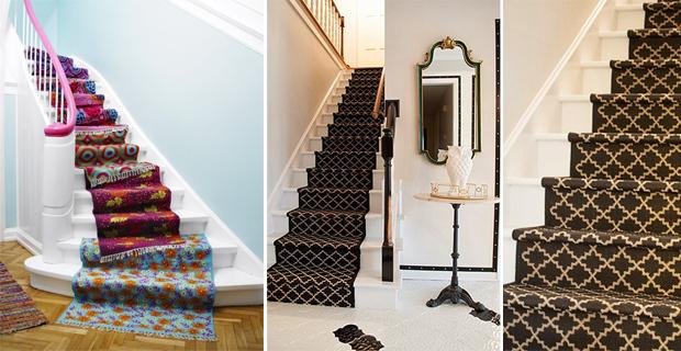 Idee creative per decorare le scale con pattern colori e