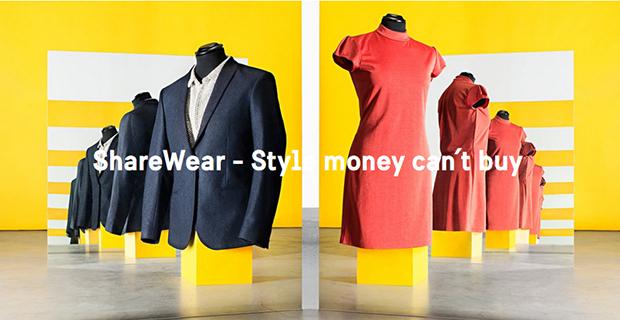 ShareWear liniziativa per condividere i vestiti che non si indossano pi