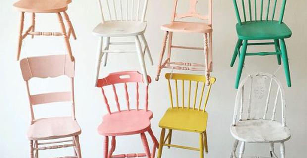 Dipingere le pareti con le calde tonalità della terra. Come Rinnovare Sedie In Legno Idee E Colori
