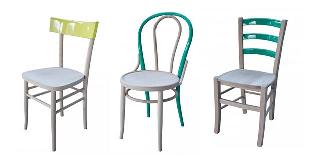 Come dipingere le vecchie sedie in legno, da diyandart.com. Come Rinnovare Sedie In Legno Idee E Colori